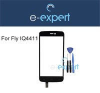 New Arrival Touch screen digitizer Glass For Fly IQ4411 IQ 4411 Front Touchscreen glass lens Assembly + Gifts