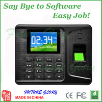 fingerprint time attendance machine digital electronic self- English Fingerprint readers machine