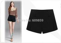 New 2015 Autumn and Winter Shorts Women Fashion Slim High Shorts Plus size Casual Women Shorts