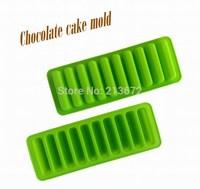 DIY Chocolates Eco-Friendly Food-grade Silicone Cake Mold Originality Convenient New Creative Trends 10PCS Strip Cake Tools
