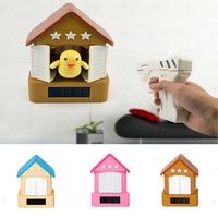Free shipping Cucoo Bird Style Creative Gun Alarm Clock & Shooting Alarm Clock Hunting Bird Table Clock