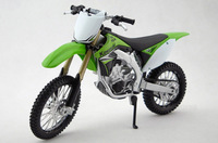 Free Shipping Diecast Motorcycle Model Toys Kawasaki KX 450F Green 1/12 Scale Metal Motorbike Model Toy For Gift/Children