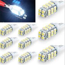 NEW Hot Sale 10Pcs Pure White T10 194 168 W5W 28 SMD 1206 LED Car Clearance Light 12V(China (Mainland))