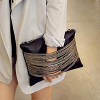 bolsas femininas 2015 Hot sale punk Women's envelope Clutch bags Fashion party Evening bag handbags Shoulder Messenger bags