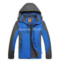2015 Casual Spring-Autumn Camel Outdoors Sports Jacket Camping Hiking Mountain Coats Men Windbreaker outdoor waterproof jacket