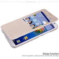 Wholesale 10Pieces Nillkin For Hauwei Ascend GX1 Sleep Function Open Window Case Flip Leather Case Cover For Hauwei Ascend GX1