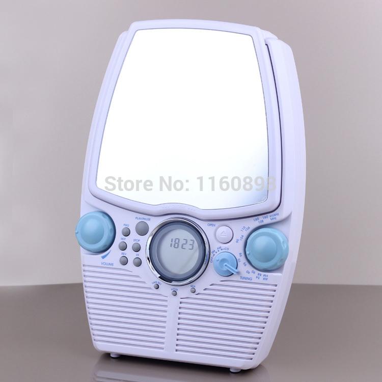Portable CD Player Bathroom waterproof radio & CD player(China (Mainland))