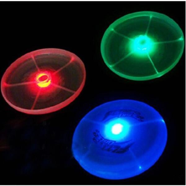 Frisbee Led UFO Flashing Frisbee Flying Disk Children Toys(China (Mainland))