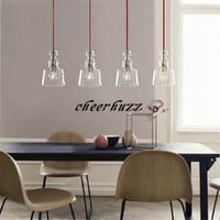 New Modern Michele Clear Glass Pendant Lamp Living Room Dinning Room Pendant Light PL145