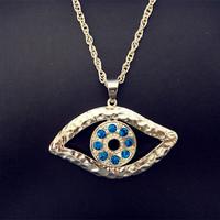 Hot Sale Fashion Women Jewelry Pendant Necklace Turkey Evil Eye Necklace With Blue Eye Free Shipping