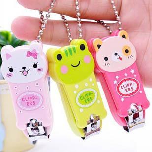 Creative cute cartoon panda nail clippers nail scissors nail clippers factory wholesale 25g frog(China (Mainland))
