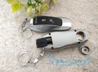 Retail Key Shape Metal Pipe Rasta Smoking Pipe Weed Keychain Dropshipping