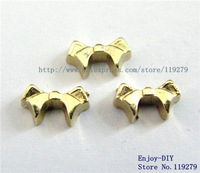 Free shipping  bow tie Floating charms DIY Accessory Fit for Floating charms Locket FC520