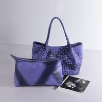 BRIGGS Famous Brand Knitting PU Leather Women Bag Fashion Composite Bag Handbag Shoulder Bags 2015