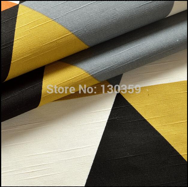 Geometric Quilting Fabric Geometric Figure Canvas Fabric