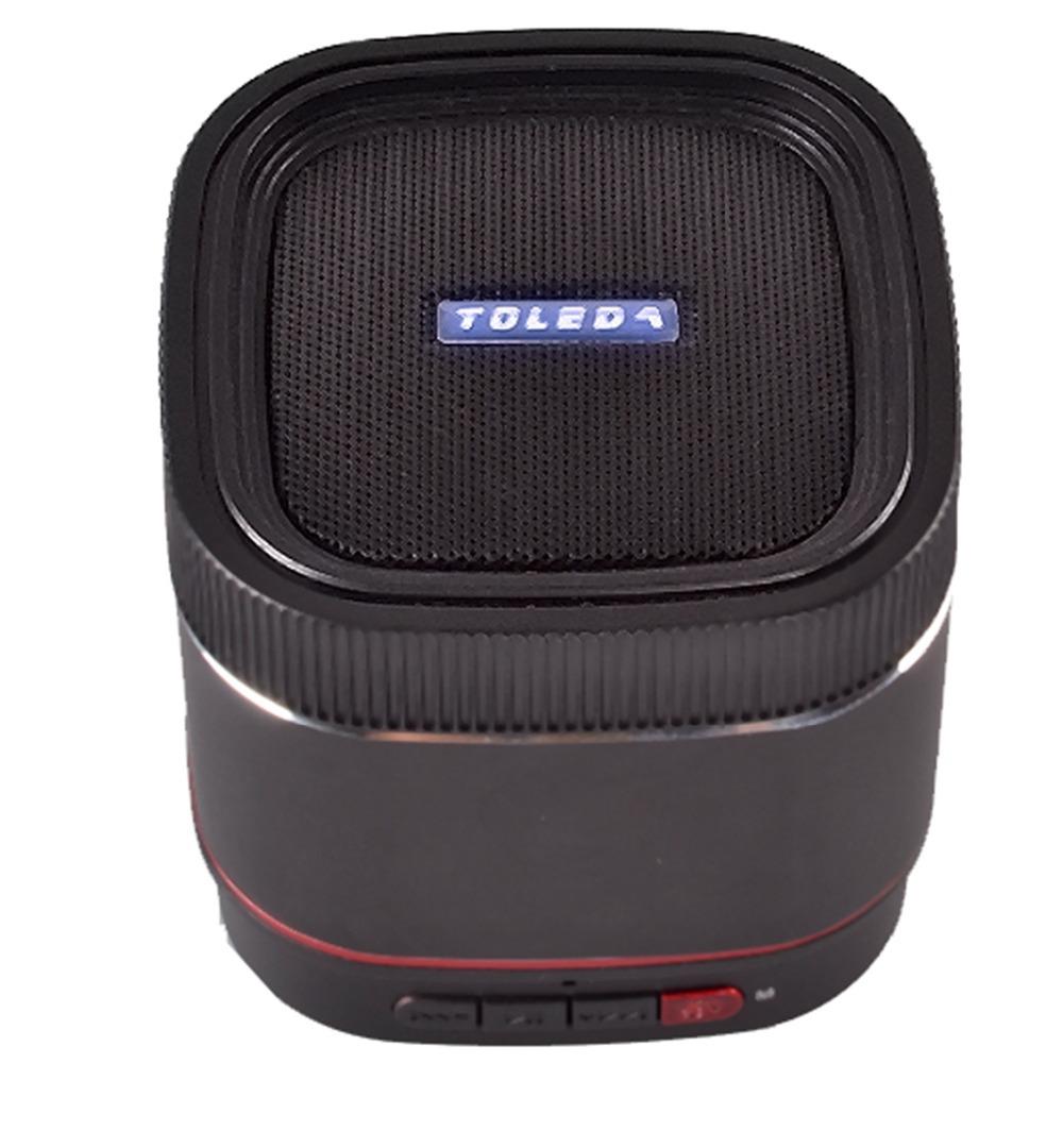 10019TW TOLEDA TLS22 Fashion Home Stereo Speaker Mini USB TF Card MP3 Music Portable Altavoz Bluetooth Sound Box Woofer FS(China (Mainland))