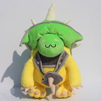 36cm LOL King Rammus green armored turtle plush toy high quality soft stuffed doll Free shipping
