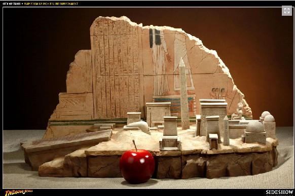 "Sideshow 100084 12 ""Indiana Jones scene toy model(China (Mainland))"