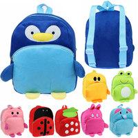 2015 Wholesale Unisex Baby Lovely Toy Children Kindergarten Kids Doll Bag Backpack School Bag Gift FOR Xmas A2