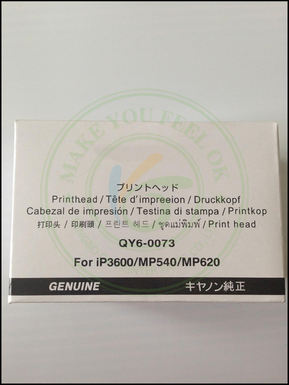 ORIGINAL NEW QY6-0073 Printhead Print Head for Canon iP3600 iP3680 MP540 MP560 MP568 MP620 MX860 MX868 MX870 MX878 MG5140 MG5180(China (Mainland))