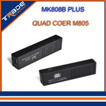 Mk808 мини-пк MK808B плюс Amlogic M805 четырехъядерных процессоров андроид 4.4 мини-пк Google TV Stick ключ 1 ГБ 8 ГБ WIFI H.265 DLNA Miracast