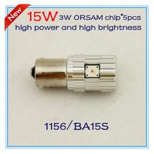 P21w 1156 BA15S S25 15 W 5 шт. OSRAM чипсы с высокой мощностью и высокая яркость из светодиодов задний свет sytel