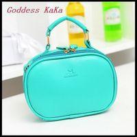 Goddess KaKa!!! Korean Women Handbag PU Leather Shoulder Bag Fashion Lady tote Candy Color Crossbody Bag bolsas HD015