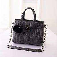 2015 Women Leather Handbags Europe America Thread Style Women Fashion Tote Vintage Women Messenger Bags -015