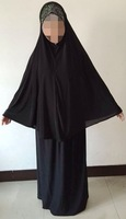 ML0123 new design 2015 big size long hijab with skirt muslim hijab islamic abaya mix colors free shipping by DHL