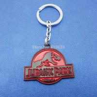 2015 NEW Arrival Jurassic Park Charm Keychain & Dinosaur Keys Ring Pendant Collection Film Fans Cool Gift