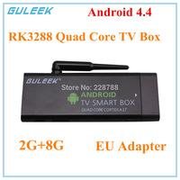 2015 New GULEEK MK807IIIS Mini box Quad-Core CPU RK3288 Smart Google TV Player w/ 2GB RAM, 8GB ROM, HDMI