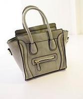 XMS  2015 Famous Luxury Brand Fashion Women Lady PU Leather Smiley Tote Bag Smile Face Color Tassel Classic Purse Handbag bolsas