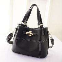 2015 Hotsale Design Women Handbags Women Bucket Bags Good Leather Women Shoulder Bags Fashion Vintage Messenger Bags  -015