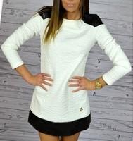 2015 New Fashion Summer Women Casual Long Sleeve O-Neck Elegant Party Dresses