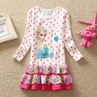 New 2015 Baby Girls Dress Gilr's Summer Tutu Dress Kids Party Dress Children Christmas Princess Dress
