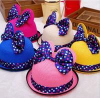 Child girl hat / beach hat / children hat / sun hat/Butterfly Ears Hat