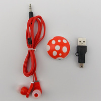 2015 New design Mini MP3 Music Media Player /mp3 player With Micro TF/SD card Slot with usb cable +headphones 5 colors.