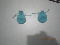 100pcs/lot , 11.5*8.5 cm,round shape,brand  jewelry blue color pouches !