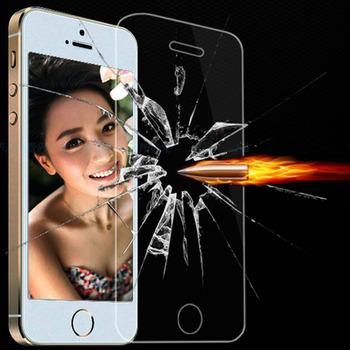 Армированного стекла ясно передняя протектор экрана для iphone 4 4S 4 г ультра тонкий с пакет кристалл защитная пленка для iphone4s