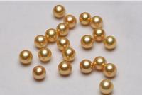 huge AAA+10mm  round tahitan black shell Pearl Half-naked bead hole