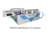 high speed K-onica size inkjet glass uv printer/Large format K-onica uv glass printing printer