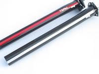 2014-4 new black seatpost carbon fibre bike seatpost bicycle seat post 27.2 /30.9/31.6*350mm