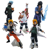 Naruto Action Figure Japanese anime figures action toy figures PVC figure 5pieces/set