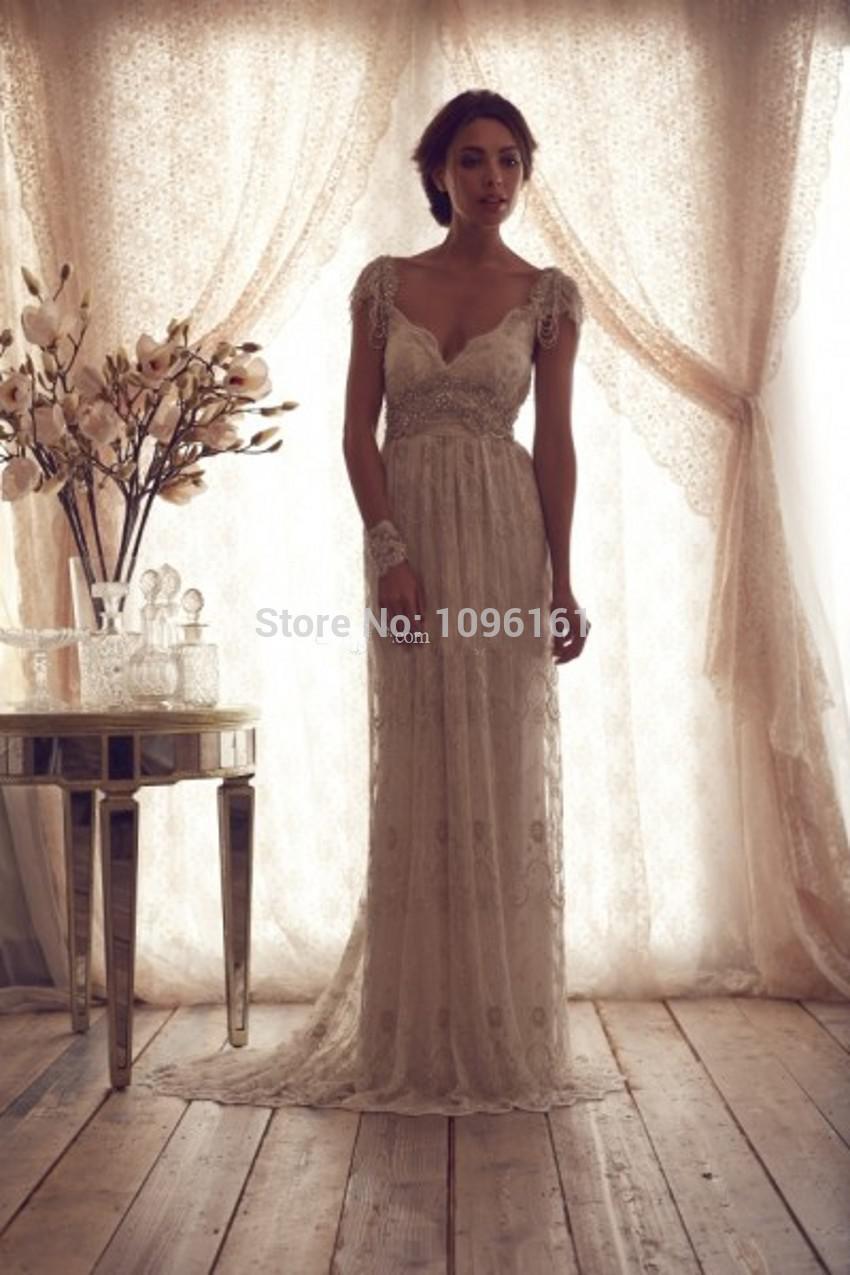 Vestidos de boda de la vendimia 1920