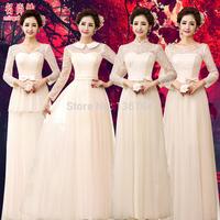 Yarn 2015  formal dress champagne color long design slim Evening Dresses