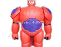 new High quality Free Shipping DHL20PCS/LOT 17cm BIG Hero 6 Baymax PVC toys Robot Mech best gifts for baby kids toys