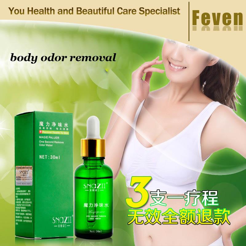 Unisex Magic Remove body Odor Water deodorant for men women underarm hircismus cleaner,antiperspirant deodorant 30ml/pc(China (Mainland))