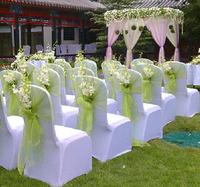20pcs/lot Chair Sash wedding decoration Romantic Banquet Party Decor  Chair Sashes Bow Cover Sashes Decoration Gauze