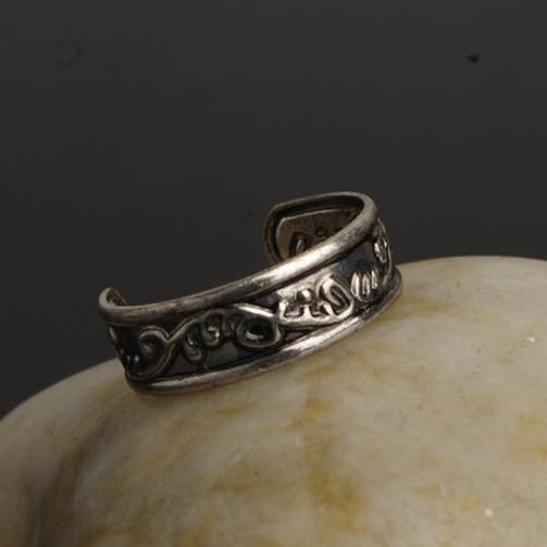 New arrival jewelry fashion Retro resizable toe rings J1050