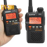 New Ham Walkie Talkie BaoFeng UV-200 Two Freq. disply portable radio